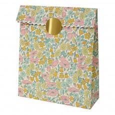 product-Meri Meri Patterned Liberty Poppy & Daisy Gift Bag - Set of 10