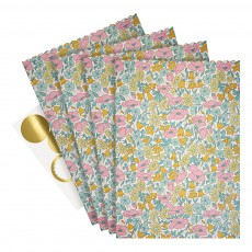 Meri Meri Cajas regalo motivo Liberty Poppy & Daisy - Set de 10-listing