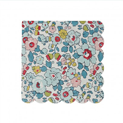 Meri Meri Patterned Liberty Betsy Napkins - Set of 20-product