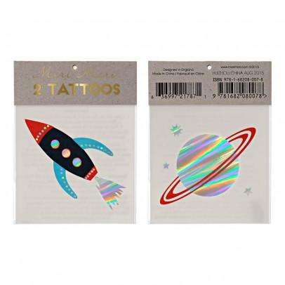 Meri Meri Tatuajes efímeros espacio - Set de 2-listing