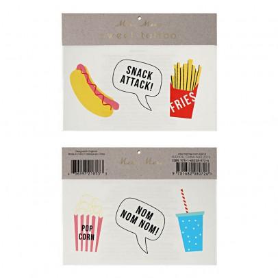 Meri Meri Temporary Snack Tattoos - Set of 6-product