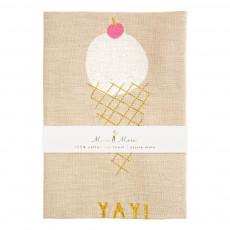 Meri Meri Paño lino cono de helado Yay!-product