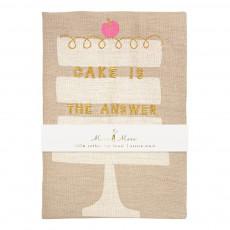 Meri Meri Torchon en lin gâteau Cake is the answer-listing