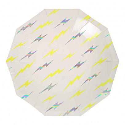 Meri Meri Lighting Paper Plates - Set of 8-listing