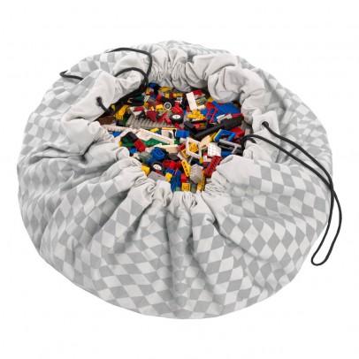 Play and Go Bag and Play carpet - Diamonds -listing