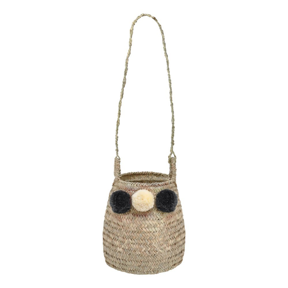 Straw Hanging Basket-product