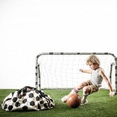 Play and Go Spielzeugsack und -decke - Fußball-listing