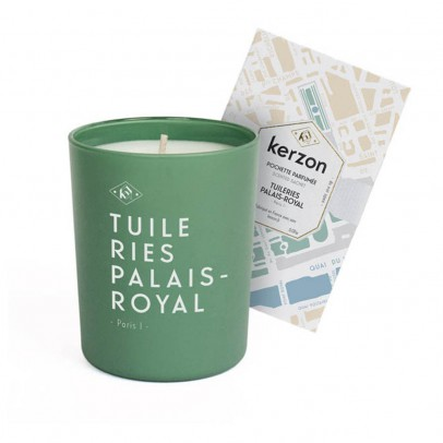 Kerzon Fragranced Candle and Sachet - Tuileries - Palais Royal - 185 g-listing