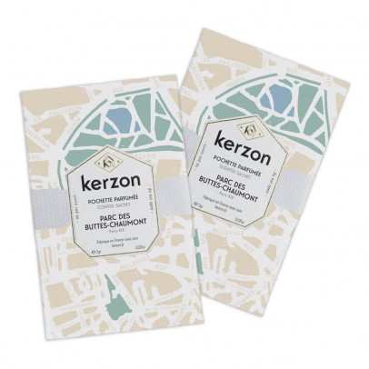 Kerzon Fragranced Sachet - Parc des Buttes - Chaumont - Set of 2-listing