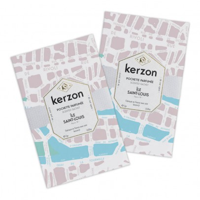 Kerzon Pochettes parfumées Ile Saint-Louis - Set de 2-listing