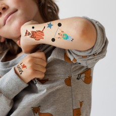 MIMI'lou Tatuajes efímeros Circo-listing