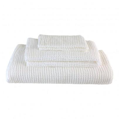 Numero 74 Set de 3 serviettes de toilette en nid d'abeille --listing
