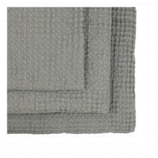 Numero 74 Set de 3 serviettes de toilette en nid d'abeille --product