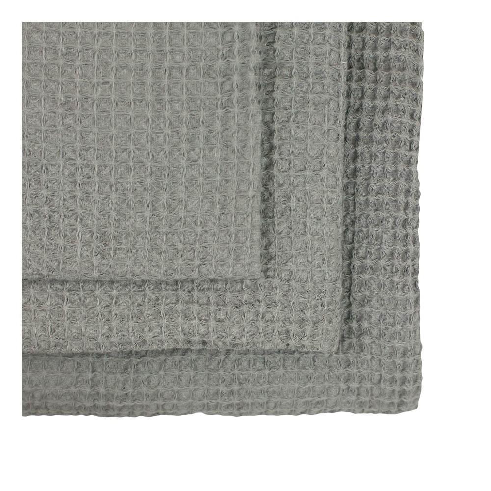Set de 3 serviettes de toilette en nid d'abeille --product