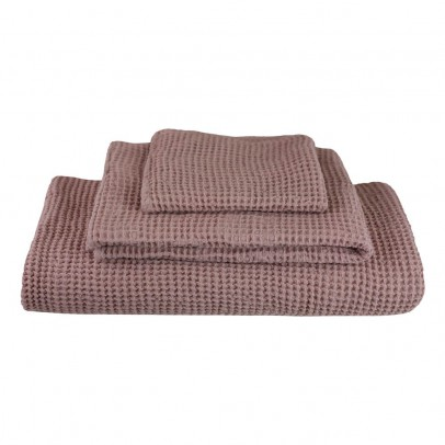 Numero 74 Set of 3 Honeycomb Towels - Old Rose-listing