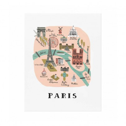 Rifle Paper Co Póster Paper Paris - 28x35 cm-listing