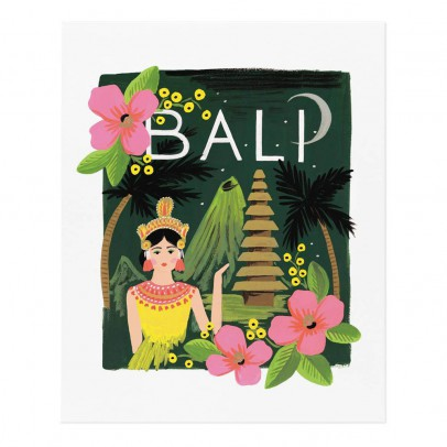 Rifle Paper Co Rifle Paper Bali Poster - 28x35 cm-listing