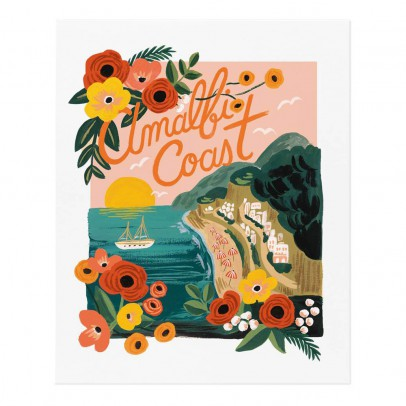 Rifle Paper Co Rifle Paper Amalfi Cost Poster - 28x35 cm-listing
