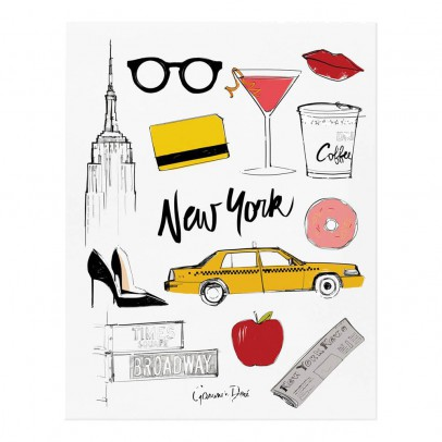 Rifle Paper Co Póster Rifle Paper New-York par Garance Doré - 28x35 cm-listing