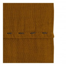 Numero 74 Flat sheet or curtain pinch - Mustard Yellow-product