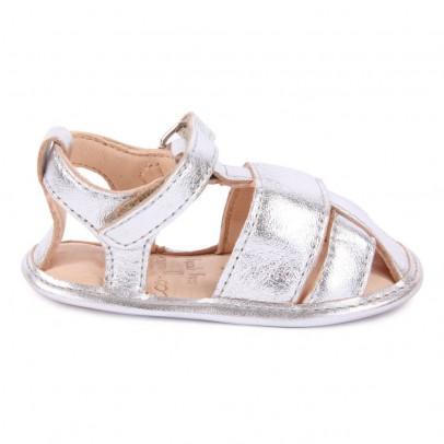 Easy Peasy Nonno Irisdescent Leather Baby Sandals-listing