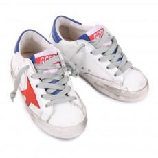 Golden Goose Superstar Red Sneakers-listing