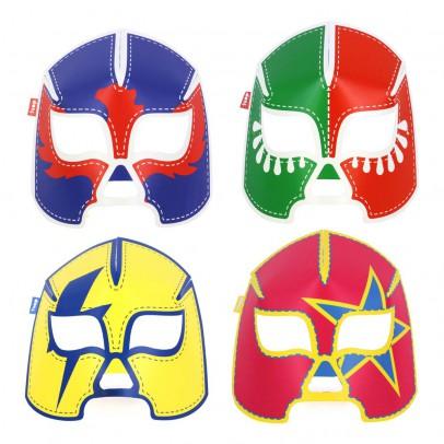 DOIY Máscaras fluorescentes en papel - Set de 8-listing