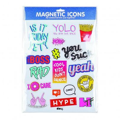 DOIY Magnet blau-listing