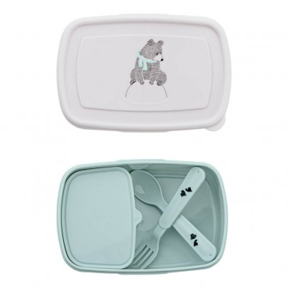 Bloomingville Kids Lunch box avec couverts-listing