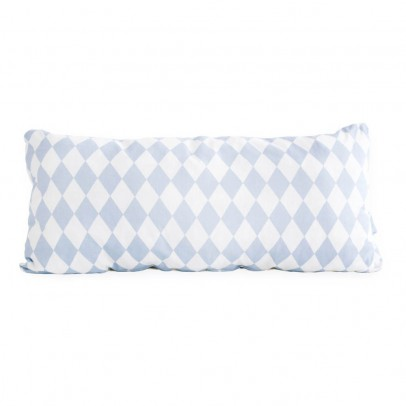 Nobodinoz Averell cotton cushion with rectangle diamonds 52x24cm-product