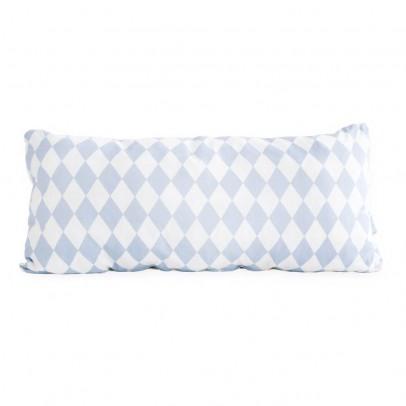 Nobodinoz Coussin Averell en coton garni rectangle losanges 52x24 cm-product