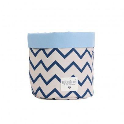 Nobodinoz Mambo basket with zig zag patterns-product