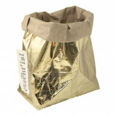 Essent'ial Beutel - gold-/naturfarben-listing