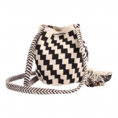 Guanabana Wayuu Checkerboard Fabric Shoulder Bag-listing