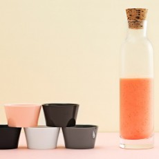 Normann Copenhagen Glass carafe with 5 cups - Marcel Wanders Design-listing