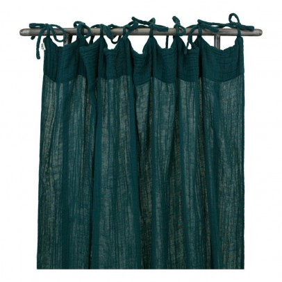 Numero 74 Curtain - Petrol blue -listing