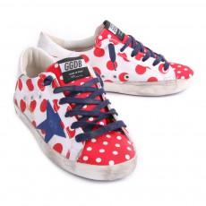 Golden Goose Superstar Polka Dot Sneakers-product