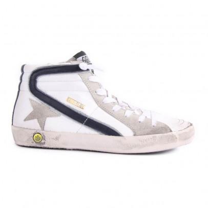 Golden Goose Slide Zip-Up High Top Sneakers-listing