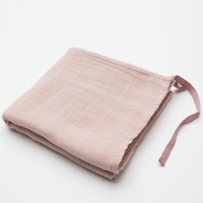 Moumout Manta 60x60 cm en gasa de algodón ecológico  -listing