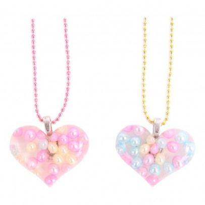 Pop Cutie BFF Heart Necklace Set-listing