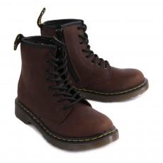 Dr Martens Boots Zippées Cuir Core Delaney-listing