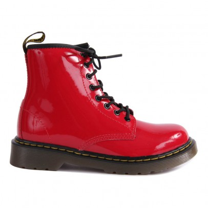 Dr Martens Core Delaney zipped lacquered boots-listing
