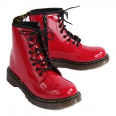 Dr Martens Boots Zippées Vernis Core Delaney-listing