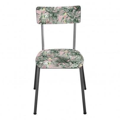 Les Gambettes Chaise adulte Suzie pieds bruts - Imprimé Jungle-listing