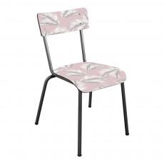 Les Gambettes Chaise adulte Suzie pieds bruts - Imprimé Palme-listing