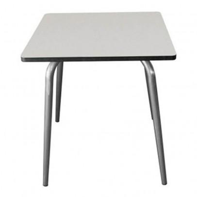 Les Gambettes Table Vera 70x70 cm pieds bruts --listing