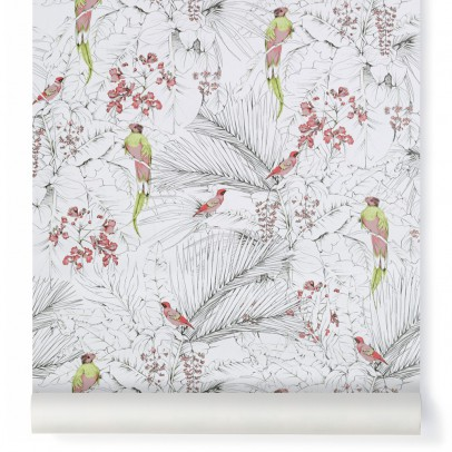 Les Gambettes Papier peint Jungle 10x53 cm-listing