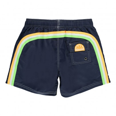 Sundek Uni Bande Three-Coloured Swim Shorts-listing