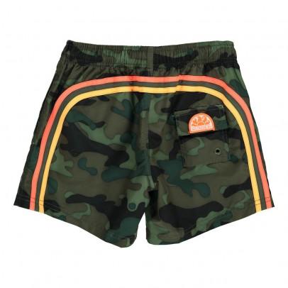 Sundek Short de Bain Camouflage Bande Tricolore-listing