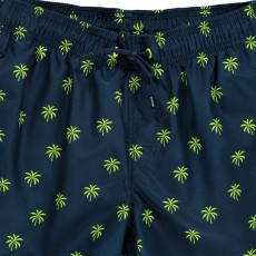 Sundek Tri-Coloured Palm Trees Swim Shorts-listing